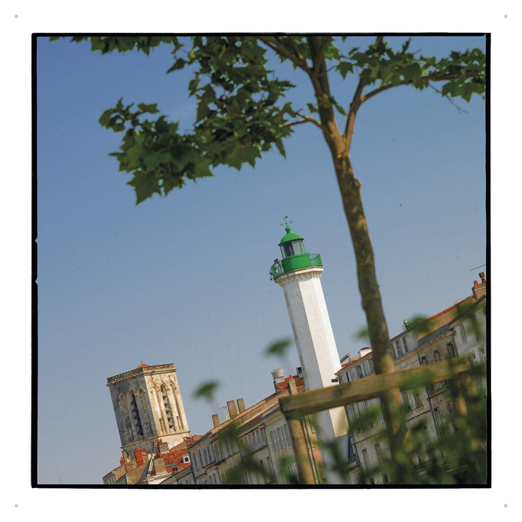 phare vert